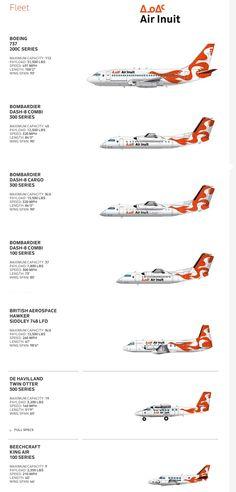 Air Inuit fleet