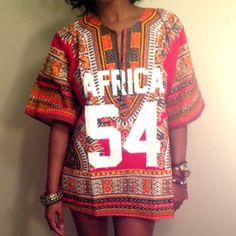 Ron Bass African Leaders Dashiki jersey as seen on Beyonce Knowles