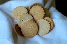 """Real Food Doesn't Have to be Snooty! """"From Scratch"""" Homemade Whole Wheat Crackers w/ Rosemary 