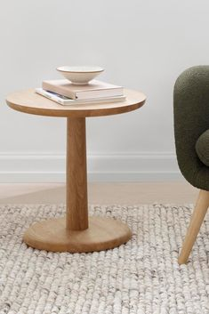The Pon Table is equally appealing as a side table, ideal for a laptop or tablet, a book or magazine, a drink or a snack. Side Tables, Solid Wood, Tray, The Originals, Book, Glass, Modern, Furniture, Design