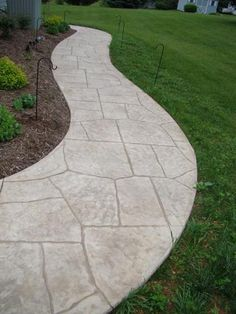 Stamped Concrete Walkways                                                                                                                                                     More