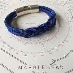 Royal Navy Single Carrick Bracelet $35