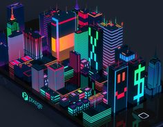 "Check out this @Behance project: ""Digital City"" https://www.behance.net/gallery/12477491/Digital-City"
