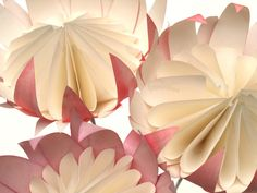 The paper proteas that we have been making have been such fun to design. This ancient flower, which has been around since the days of Gond. Big Paper Flowers, Crepe Paper Flowers Tutorial, Paper Roses, Diy Flowers, Flower Ideas, Wedding Flowers, Flor Protea, Protea Flower, Book Page Crafts