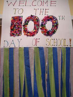 Saddle up for Second Grade: 100th Day of School Linky Party