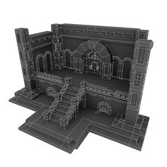 Example of a dungeon I can use for reference on the wireframe.
