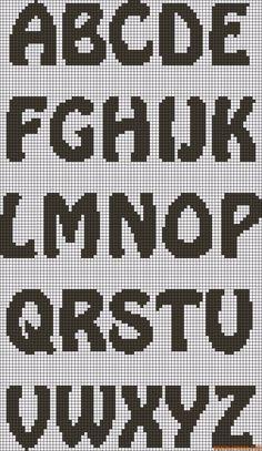 Kanaviçe, Etamin Alfabe, Harf, Rakam Şablonları https://canimanne.com/kategori/kanavice #kanaviçe #kanavice #etamin #CrossStitch