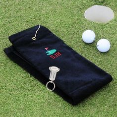 Our Personalized Golf Towel & Key Ring Tool Set will make a great gift for any golf-loving groomsmen in the wedding party. The cotton terry golf towel Golf Tools, Sports Wedding, Golf Wear, Hole In One, Gifts For Wedding Party, Party Gifts, Wedding Favors, Golf Gifts, Nfl Jerseys