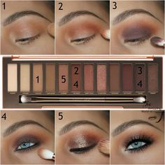 Best Ideas For Makeup Tutorials : maquillage smoky eyes couleurs nude yeux bleus - Flashmode Worldwide Smoky Eye Makeup, Eye Makeup Tips, Skin Makeup, Makeup Ideas, Makeup Brushes, Makeup Tutorials, Makeup Designs, Makeup Remover, Makeup Primer