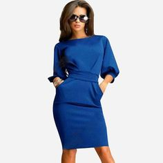 Women Sexy Casual Dress 2015 Fashion Winter Party Dress LAVELIQ