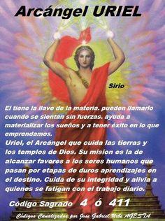 Archangel Uriel Prayer, Archangel Prayers, St Jude Prayer, God Prayer, Healing Codes, Angel Guidance, Good Morning Greetings, Religion, Quotes