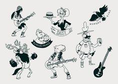 ArtStation - Character design, Artem Semenov
