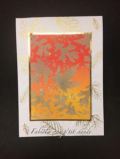 mon p'tit monde Caran D'ache, Stamp, Tim Holtz, Winter Wonderland, Cards, Decor, Romantic Scenes, Brown Paint, Bristol Board