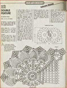 Hermoso centro de mesa al crochet | Crochet y Dos agujas