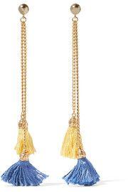 Ben-AmunGold-tone tassel earrings
