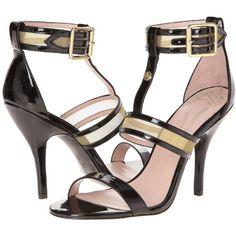 Vivienne Westwood Marilyn High Heels, Black ($126) ❤ liked on Polyvore featuring shoes, sandals, black, black leather shoes, ankle wrap sandals, leather ankle strap sandals, open toe sandals and ankle strap high heel sandals