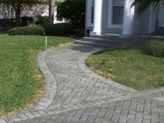Stamped Concrete Walkways | Stamped concrete,Decorative concrete,Patios,Driveways,Pool Decks ...