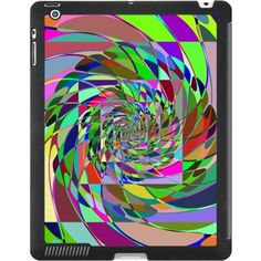Hypnotic Fractal iPad Smart Cover