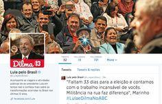Lula chegou no Twitter, vc viu? Vai tratar das transformaçoes brs dos últimos anos - Blue Bus