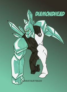 Diamondhead by kjmarch on DeviantArt Ben 10 Birthday, Character Art, Character Design, Ben 10 Omniverse, Hi Boy, Aliens, Hero Time, Marvel Drawings, Black Aesthetic Wallpaper