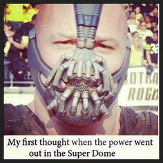 Bane was everybody's first thought!!