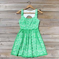 Meadow & Willow Dress. Mint.