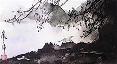 嵐酔水墨画書道教室 東京・渋谷表参道/恵比寿で学ぶ水墨画と書の世界 ~Ransui's Sumi Art class ドラマティックな水墨画