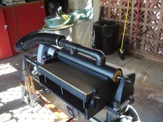 """Drum Sander by shipwright -- Homemade drum sander intended to fit the lathe of a ShopSmith 510. Dust collection apparatus was constructed from PVC fittings and a 12"""" length of 4"""" OD pipe. http://www.homemadetools.net/homemade-drum-sander-3"""