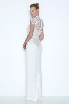 love this gorgeous gown! back view White Magick. Part.3. Collection Look Book. | LOVER®