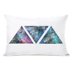 One Bella Casa Galaxy Lumbar Pillow & Reviews   Wayfair