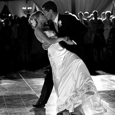 These songs have been compiled by wedding DJ's across Canada. Bride and groom's first dance usher the newlyweds to their first day as a couple. First Dance Wedding Songs, Wedding Music, Dream Wedding, Wedding Band, Perfect Wedding, Wedding Reception, People Fall In Love, Dance Lessons, Wedding Poses