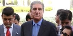 Despite differences, #PTI supports government on Kashmir issue: #ShahMehmood