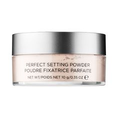 What it is:  An ultra-translucent, loose powder that sets makeup for all-day wear while imparting a soft-focus, airbrushed finish.     What it does:   This ultra-lightweight loose setting powder is consciously formulated without talc for an incredibl