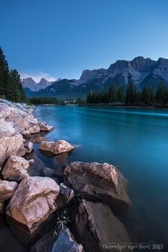 Beautiful snap shot of the Bow River which runs through the middle of our amazing Mountain town, Canmore. O Canada, Alberta Canada, Canada Travel, Vacation Places, Best Vacations, Vacation Trips, Places Around The World, Around The Worlds, Outdoor Pictures