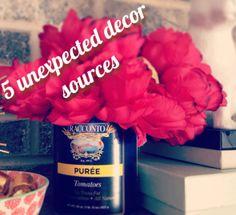 Entrusted Ministries - 5 Unexpected Decor Sources