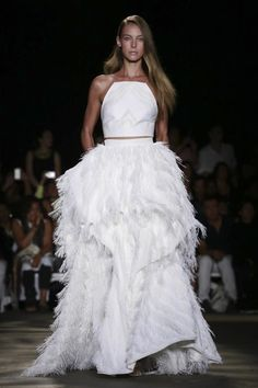 What NYFW Has To Say About White Dresses