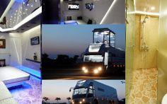 caravan with Hydraulic Lift Caravan, Desktop, Tours, Mansions, House Styles, Home Decor, Decoration Home, Manor Houses, Room Decor