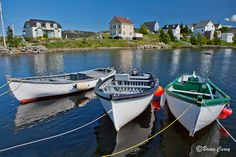 Boats tied up at Brigus, Newfoundland, Canada Newfoundland Canada, Newfoundland And Labrador, O Canada, Canada Travel, Beautiful Islands, Beautiful Images, Canadian Things, Atlantic Canada, Northwest Territories