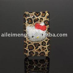 iphone4 cheetah hello kitty case. toooo cute