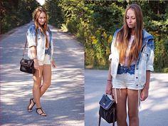 Diy Jacket, Diy Shorts