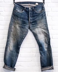 Norwood Clothing Co. Fashion Wear, Denim Fashion, Fashion Clothes, Raw Denim, Men's Denim, Denim Style, Torn Jeans, Blue Jeans, Edwin Jeans