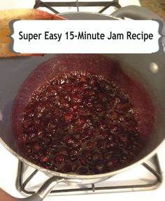 Bare(ly) Homesteading: How to Make Jam: Super Easy Recipe to Become the Master of Your Own P,B, Jam Recipes, Canning Recipes, Great Recipes, Favorite Recipes, Simple Recipes, Cheese Recipes, Recipies, Healthy Recipes, How To Make Jam