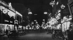 Vintage Holiday: Christmas in Gelsenkirchen, Germany, 1955