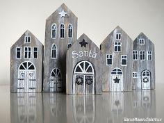 Holzhäuser, wooden houses