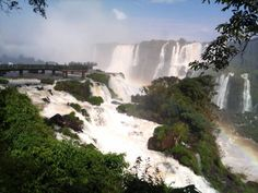 #Iguazu Falls #Argentinian side  A place I didn't get to go this time in Argentina. But a good excuse to come back!