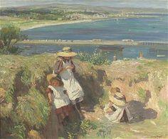 Dame Laura Knight - English / Long Eaton (1877 - 1970) In The Sun