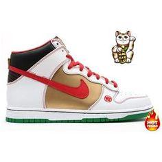 the latest e3834 39679 Mens Nike Dunk High SB (Money Cat Edition)