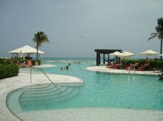 Now Jade Riviera Cancun Resort & Spa: Adult only pool. I can't wait!!!!!
