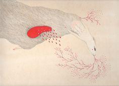 Le frémir et la chair des fruits (exclusive drawing for Peut-être Magazine), via Flickr.