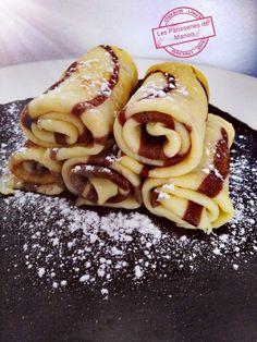 Crepe Recipes, Brunch Recipes, Breakfast Recipes, Dessert Recipes, Sweet Desserts, Sweet Recipes, Crepes And Waffles, Fruit Pancakes, Cacao Recipes